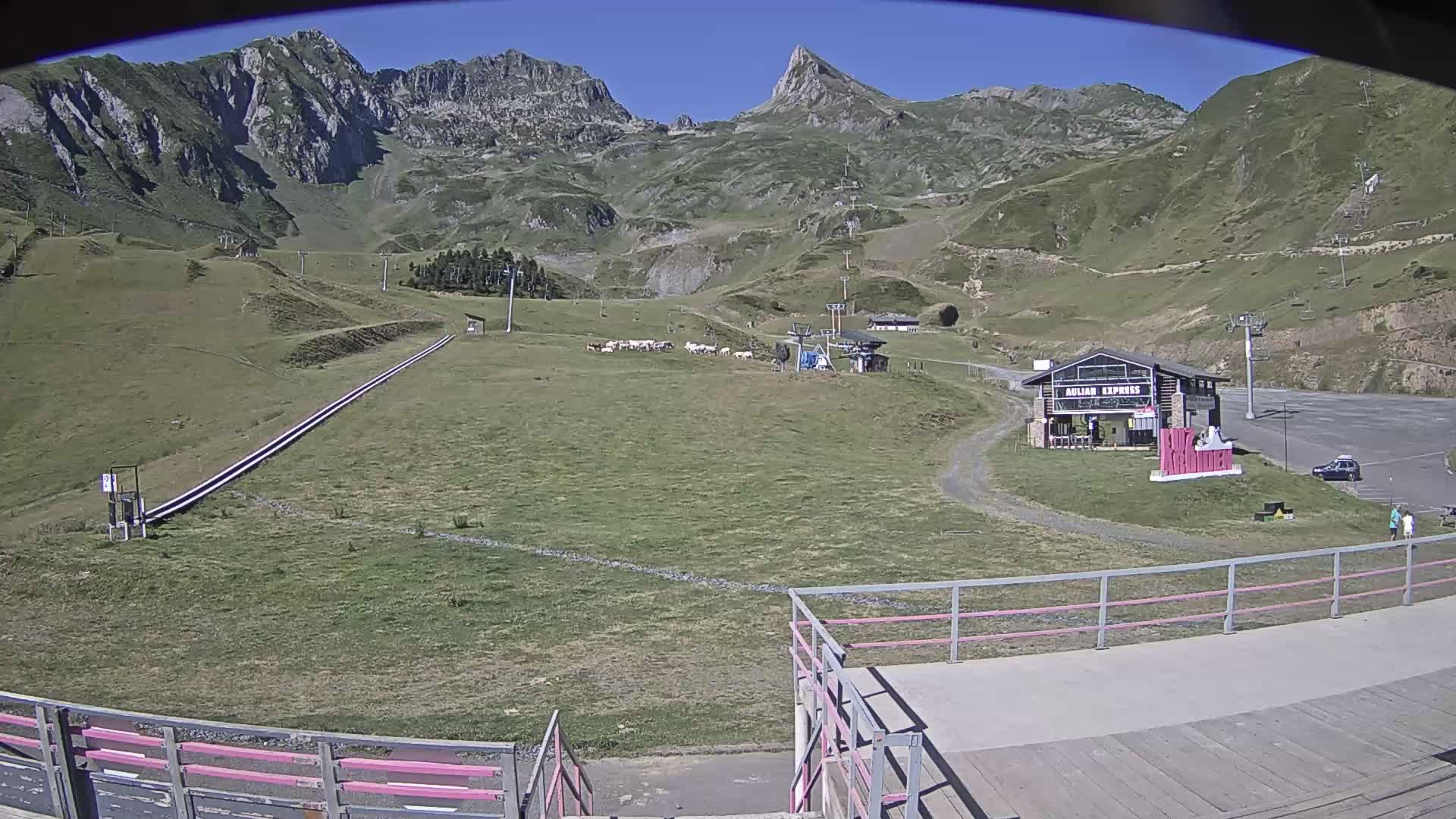 Webcam de Aulian - Front de neige