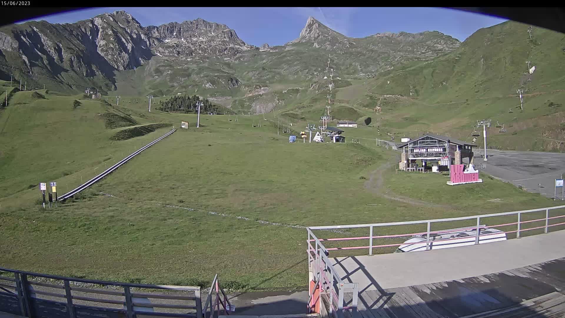 Aulian - Front de neige